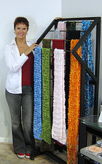 A retail rack designed and built 