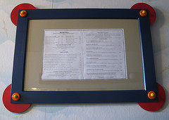 Image of a picture frame characterized by