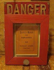 Safety Rules, circa 1940, from Shawmut Mines