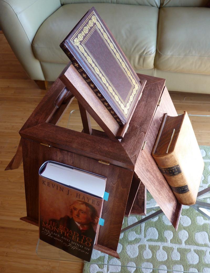 thomas jefferson's revolving book stand | johnsonarts
