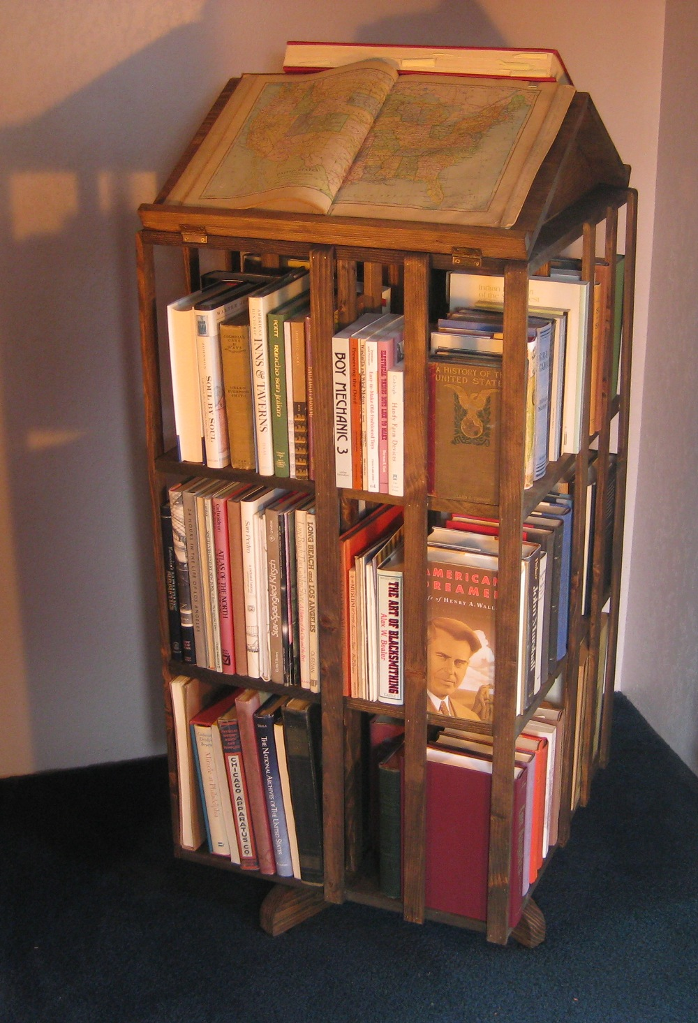 pbteen revolving o bookcase products