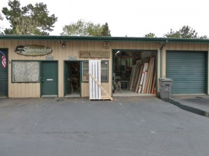 Hometek is HQ'ed in a storage facility between Asilomar and Spanish Bay where in addition to the gardener's, hardwood floor installers, potters and Giclee (?) emporiums there are a knot of custom cabinet and woodworker shops.