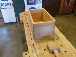 Prize Case 1 bottom in dry fit.