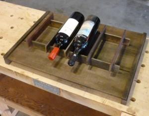 Here's a 4-bagger atop a raisin tray.