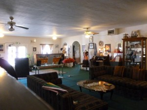 Amargosa Hotel Lobby