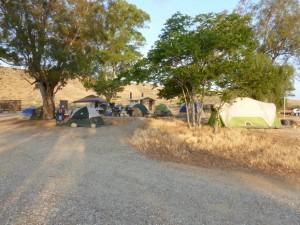 enemy encampment